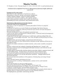 Resume Examples Food Service by Food Service Sales Resume Examples Unforgettable Rep Retail Sales
