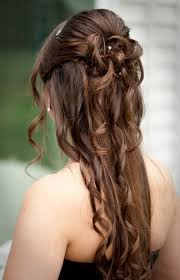 Partyfrisuren Lange Haare Offen by Die Besten 25 Formale Haare Ideen Auf Prom Haare