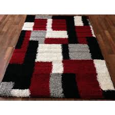 Memory Foam Area Rug 8x10 Bedroom Amazing Black And Red Area Rugs Ordinary Clubnoma Grey