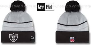 raiders thanksgiving day knit beanie hat by new era at hatland co