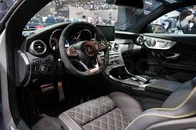C63 Coupe Interior Geneva Switzerland March 1 Geneva Motor Show On March 1 2016