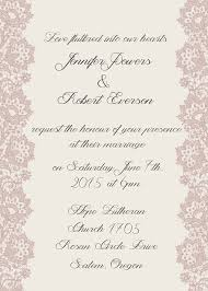 print wedding invitations inexpensive vintage lace ribbon printing wedding