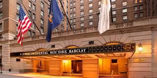 intercontinental new york barclay new york new york