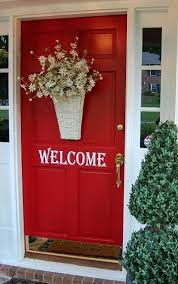 Red Door Home Decor Best 25 Bright Front Doors Ideas On Pinterest Colored Front