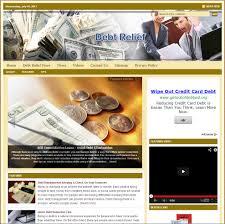 debt relief niche website u2013 turnkeypages