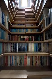 bigger better bookcase stair treehugger