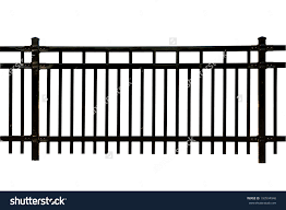Home Depot Decorative Fence Decoration Lovely Black Metal Fence Isolated White Stock Photo