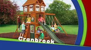 Cedar Playsets Cranbrook Play Set On Vimeo