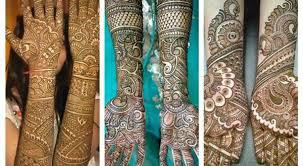 best wedding mehndi designs 2015