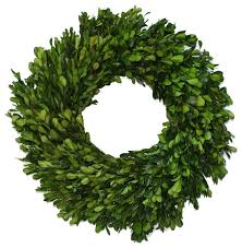 boxwood wreath preserved garden boxwood wreath 14 contemporary wreaths and