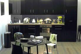 cuisine noir et jaune cuisine noir et cuisine with cuisine noir et beautiful