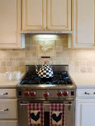 country kitchen backsplash rooster backsplash houzz