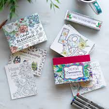 creative expressions cards to color and