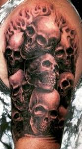 14 best forearm skull designs images on