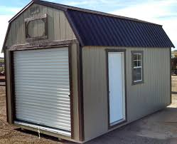 wk painted 10x20 lofted barn garage jpg