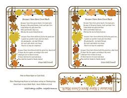 printable poems for thanksgiving happy thanksgiving