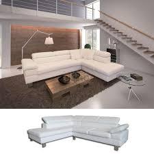 canapé d angle en cuir design canapé d angle 6 places prix soldes promo canapés discount pas cher