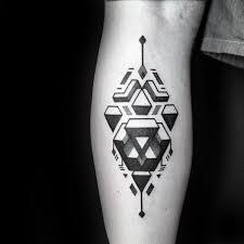 Simple Calf - 50 simple leg tattoos for masculine design ideas