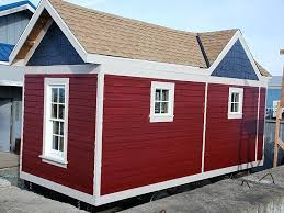 tiny house kits craftsman tiny house tiny smart house craftsman on display red