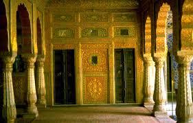 monuments palace interior bikane bikaner palaceinterior junagarh