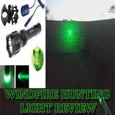 night hunting lights for scopes windfire green 350 lumens hunting light review youtube