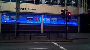 led lights office windows display