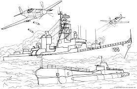 Navires de guerre  ColoratorNet  Coloriages pour les enfants
