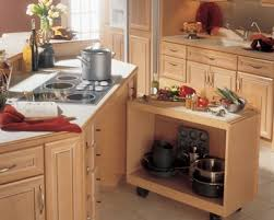 Removable Base Cabinet Providing Storage Or Knee Space For - Accessible kitchen cabinets