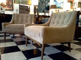 Mid Century Modern Living Room Chairs Milo Baughman Club Chairs Cool Stuff Houston Mid Century