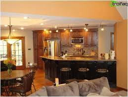 living room and kitchen ideas the design of the kitchen living room photo top 50 living room