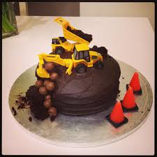 easy digger birthday cake the spirited puddle jumper
