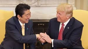 Trumps Oval Office by Donald Trump Shook The Japanese Prime Minister U0027s Hand For 19