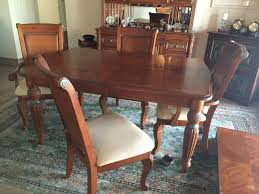 Tommy Bahama Dining Room Furniture Tommy Bahamas Style Dining Room Table And Curio With Hutch For