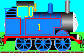 thomas train side clipart clipartxtras