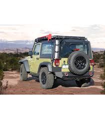 cargo rack for jeep wrangler jeep jk 2door stealth rack multi light setup gobi racks