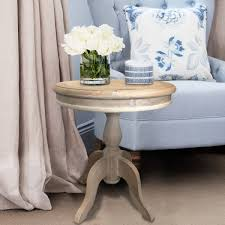 small round oak coffee table round oak side table