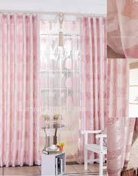 Girly Window Curtains by Bedroom Heart Printing Pink Wide Window Curtains