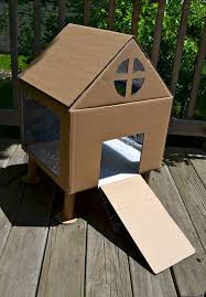 Make Rabbit Hutch Make A Cute Hutch Out Of A Cardboard Box For Kids To Use As A