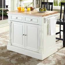 kitchen island with chopping block top darby home co lewistown kitchen island set with butcher block top