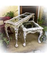 Antique Entryway Table Amazing Deal On Shabby Chic Bookcase Painted French Country
