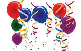 palloncini clipart palloncini e stelle filanti clip clipart gratis clipartlogo