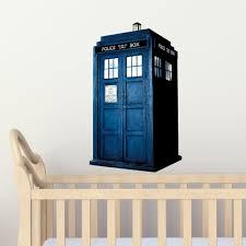 tardis bedroom door doctor who wall art furniture craft ideas