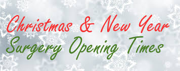 and new year opening times 2016 cherry tree dental care