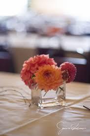 Cube Vase Centerpieces by Summer Wedding In Ballard Tobey Nelson Events U0026 Design