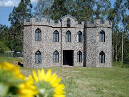 Small Castle House Plans A Medieval Castle Is Available For Rent In Mount Crosby