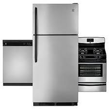 kitchen appliances bundles kenmore kenmore 3 piece kitchen suite stainless steel
