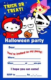 hello kitty halloween invitations u2013 halloween wizard