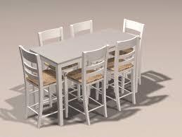 metal top kitchen table poitra visual 3d model catalogue 3d model 21st century italian