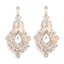 Pink Chandelier Earrings Silver Tea Pink Yellow Pearl Dangling Large