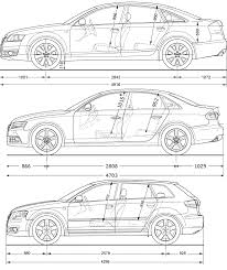 audi a4 comparison audi a3 a4 a6 blueprint comparison pictures audi a3 a4 a6